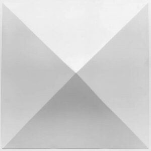 large pyramid 3d wall panel tile. Wipeable and waterproof.