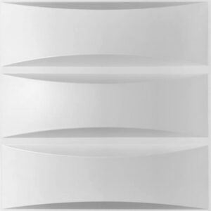 munich 3d wall panel with grooves. Eah panel has 4 grooves.
