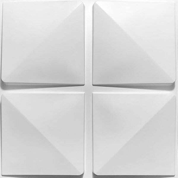 four square with grooves designer 3d wall tiles