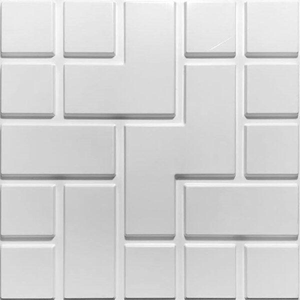 brick zig zag modern modular designer wall panels for 3d wall effect.