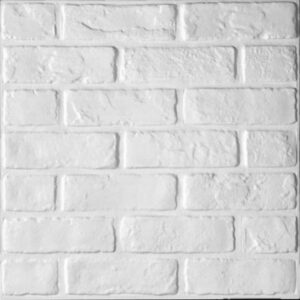 traditional brick effect 3d wall panels that have textured look for each tile.